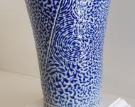 Slat glazed wood fired beaker