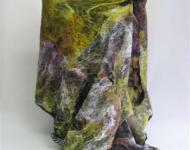 Wrap, Felted Silk Lap