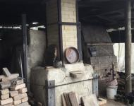 2 wood kilns