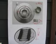 Lid and grate